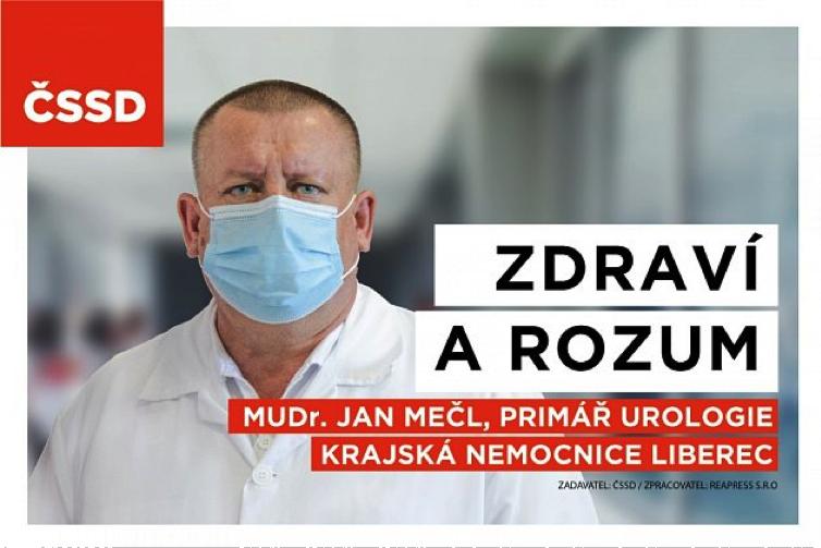 MUDr. Jan Mečl   Foto: ČSSD
